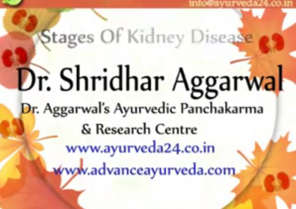Stage of kidney diseases
