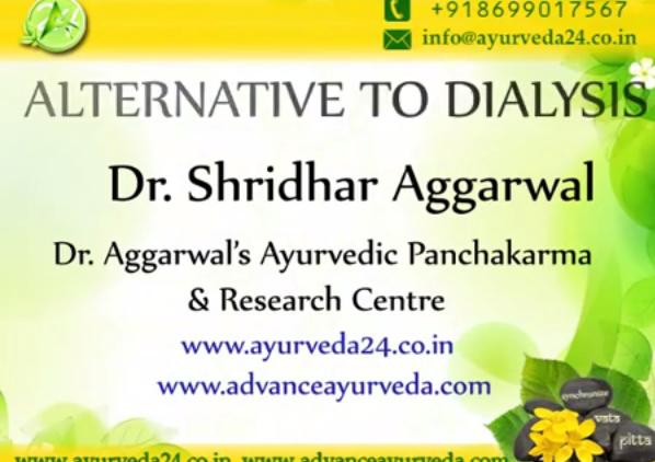 alternative to dialysis by Advance Ayurveda