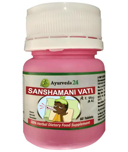 Best Herbs for fever Sanshamani Vati