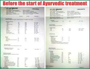 Kidney patient report
